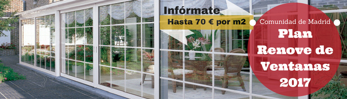 Plan Renove Ventanas de PVC Madrid