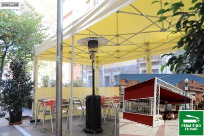 Acondicionamiento de terrazas en el sector hostelero de Madrid