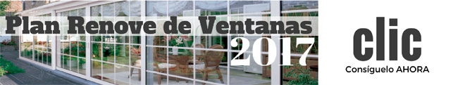 Plan Renove Ventanas 2017 Madrid