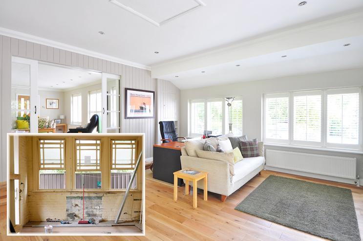 Ventanas reforma casa